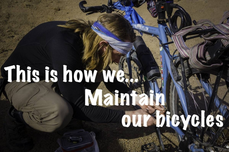 this how we maintain our bicycles