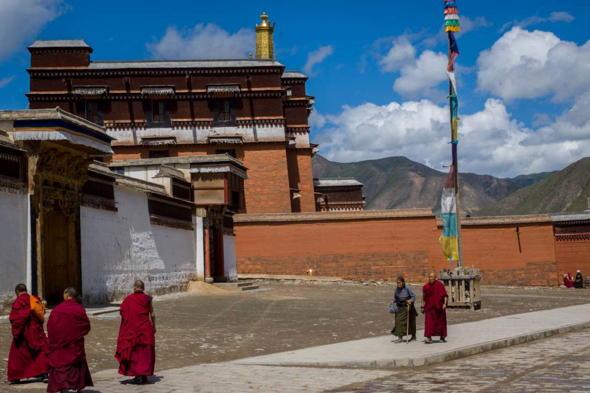 Xian to Labrang en-route to the Amdo Tibetans