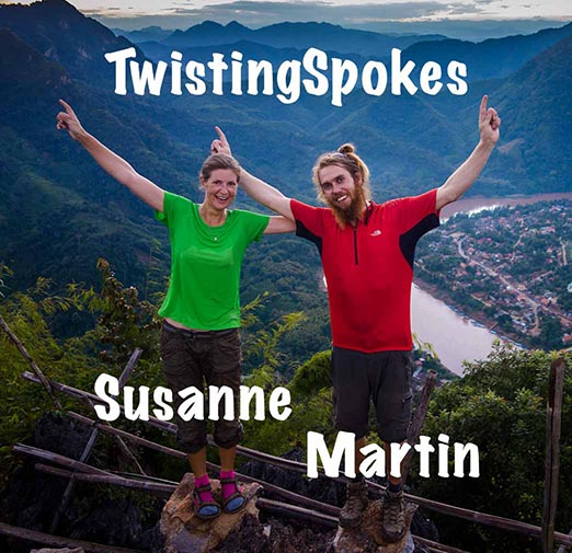 TwistingSpokes Susanne and Martin