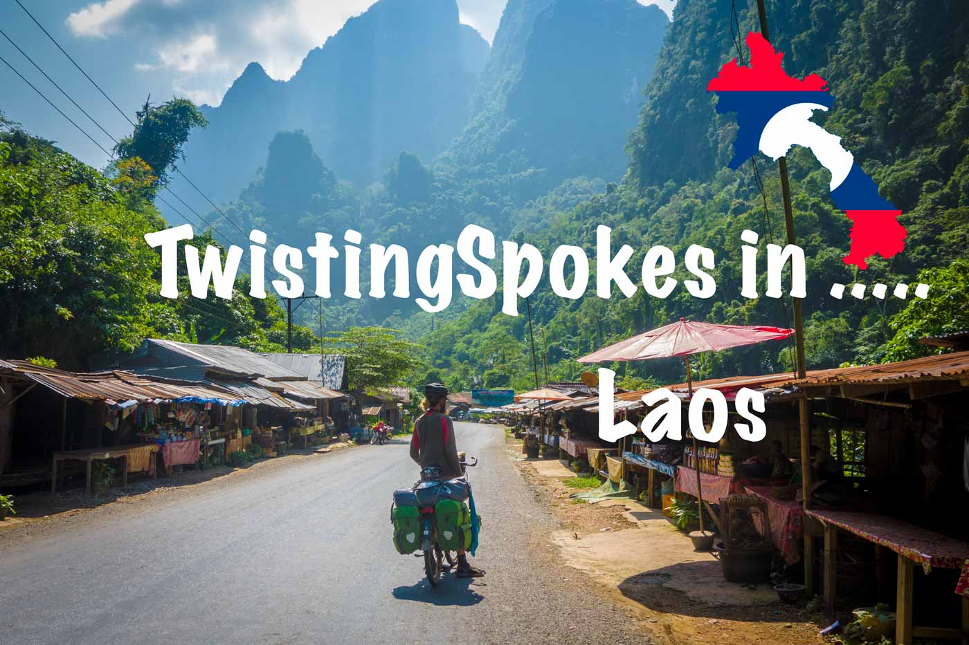 Bicycle touring Laos