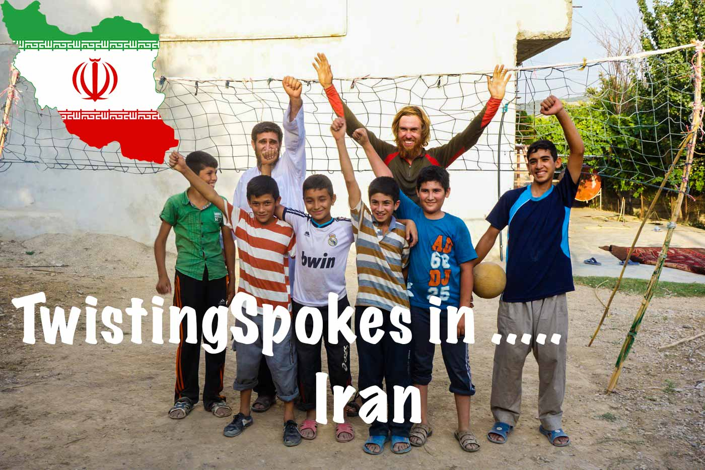 TwistingSpokes in Iran