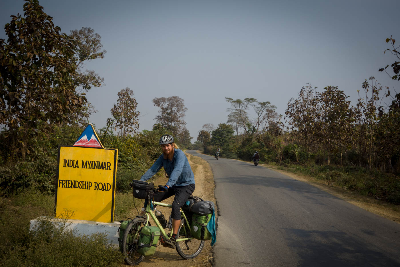 Cycling Myanmar on the wild side