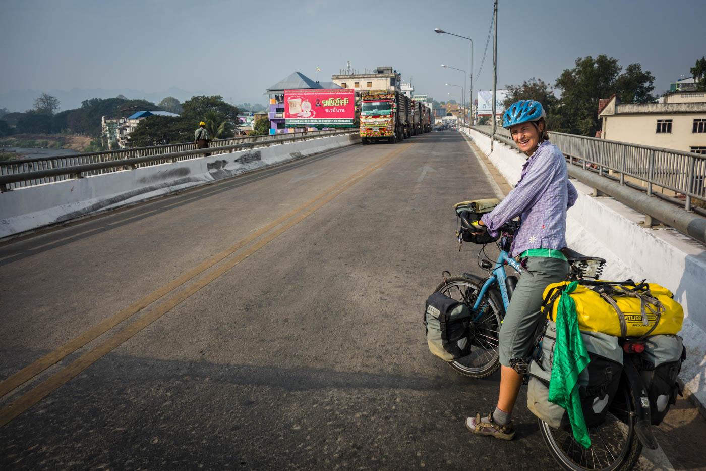 Crossing new borders from Myawaddy to Yangon