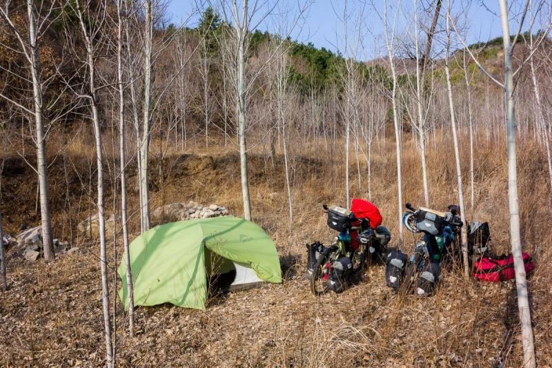 Wild camping china