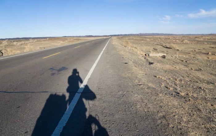 The lone road to Tarkshken – China