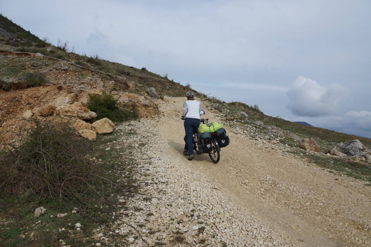 Cycle touring Albania, what an introduction!