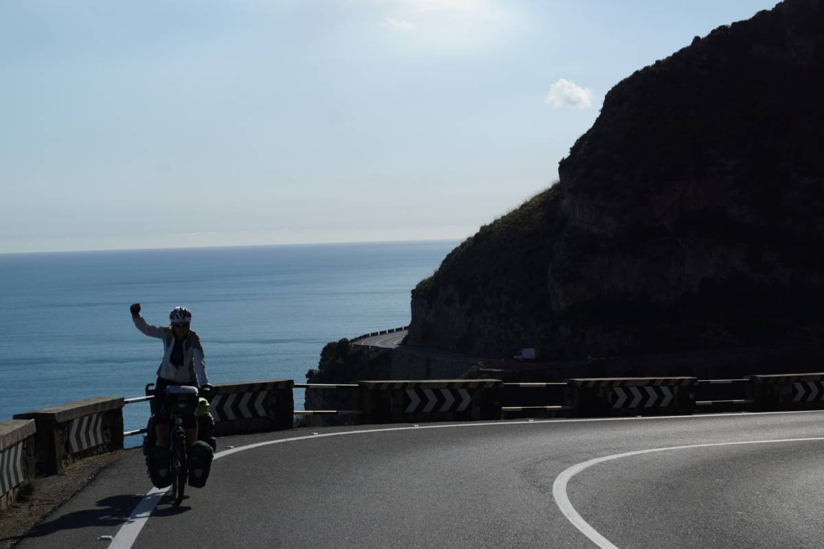 Southern Italy, cycling coast to coast